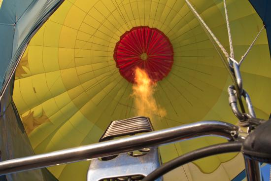 view from the balloon looking up into the balloon picture of 2 rh tripadvisor co nz