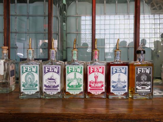 Evanston, IL: Love their bottles and labels with historical sights.