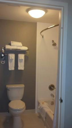 Rosemont, IL: Nice updated bathroom