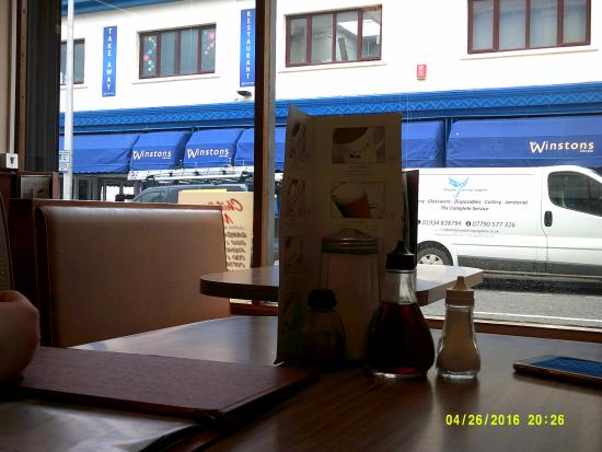 Oxford corner cafe