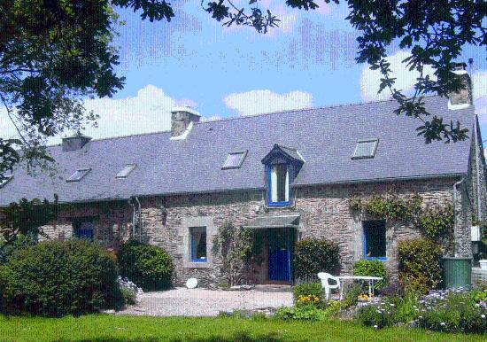 Saint-Mayeux, France : Le Boterff Gites, Camping , B&B in a peaceful rural setting