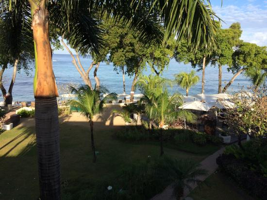 Paynes Bay, Barbados: Ocean view from room 317