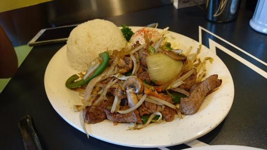 Boots & Kimo's Homestyle Kitchen: ビーフ野菜炒め