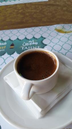Tajine Restaurant : Turkish coffee