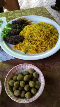 Tajine Restaurant : Camel and rice