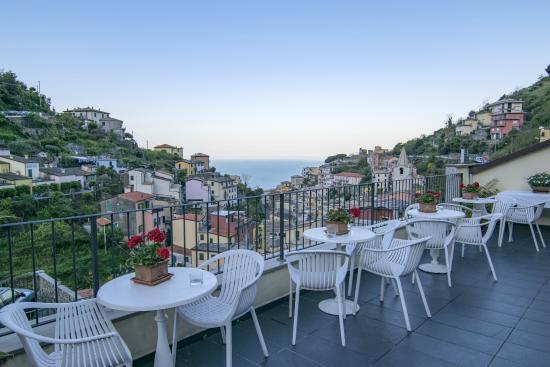 Hotel Villa Argentina: panorama dal terrazzo dell'hotel