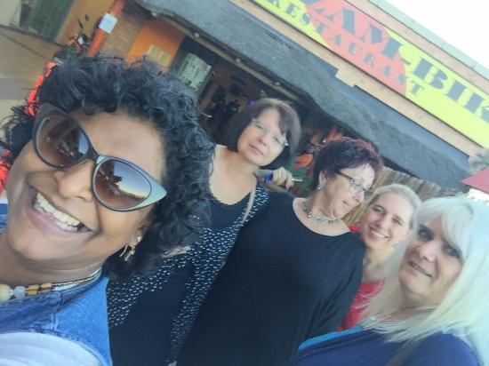 Randburg, Sudáfrica: our selfie