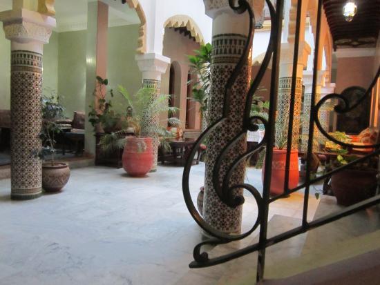 Riad Dar Alia : Le patio