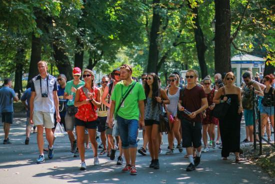 Good Vienna Tours: Park pict