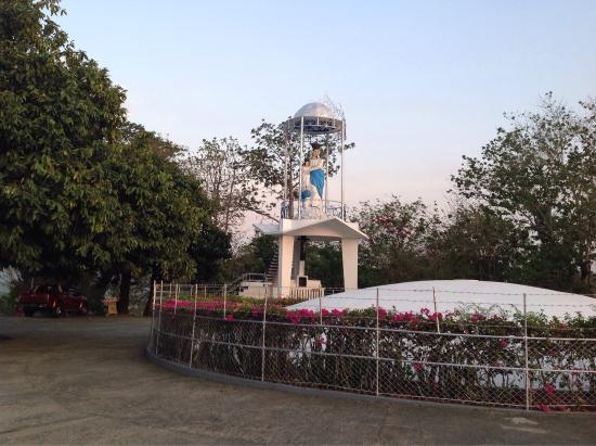 Casamata park is located in a hill overlooking the town proper of bangued, Abra in the Western s