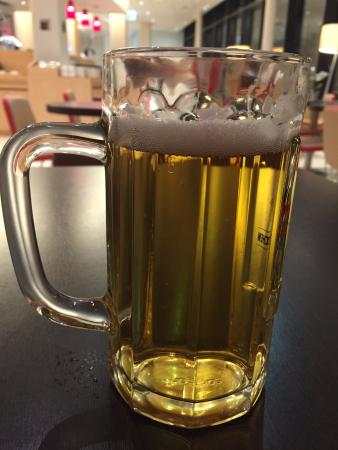 ibis Lugano Paradiso: Beers served short