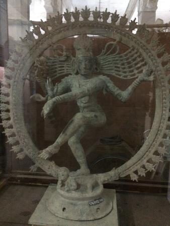 Thiruvarur, Indien: Seen in temple museum