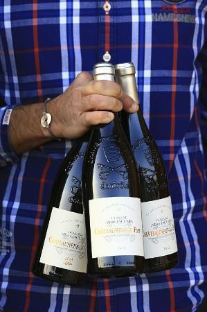 Chateauneuf-du-Pape, ฝรั่งเศส: le vin
