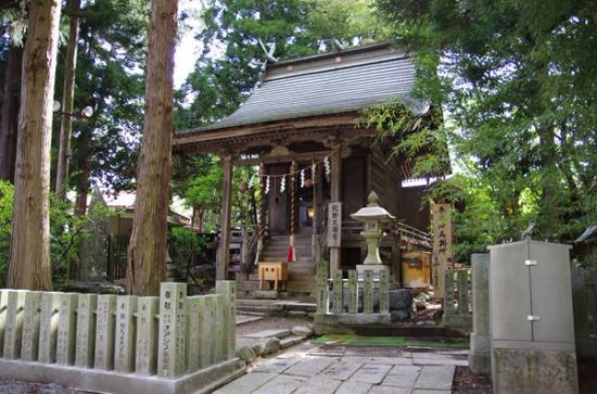 Soma Nakamura Shrine: 境内の風景