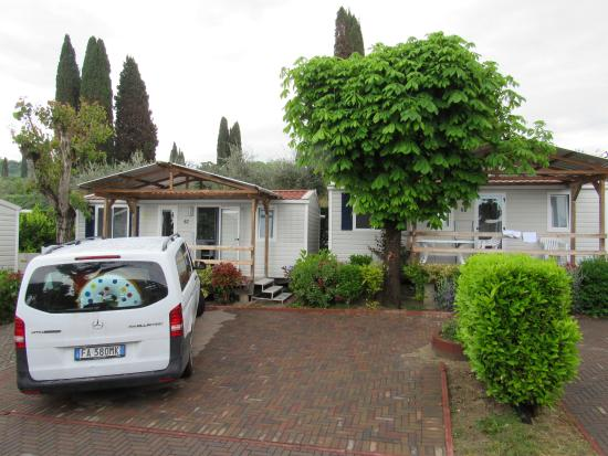 Camping Serenella: The mobile homes...excellent value for money!