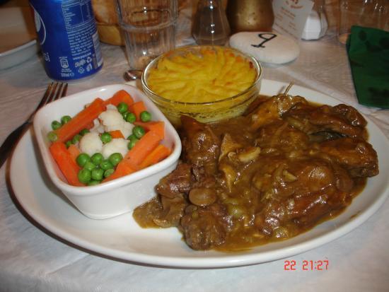 We 5: Rabbit stew - vey tasty.