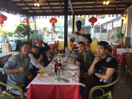 Courser Chinese Restaurant Tsilivi