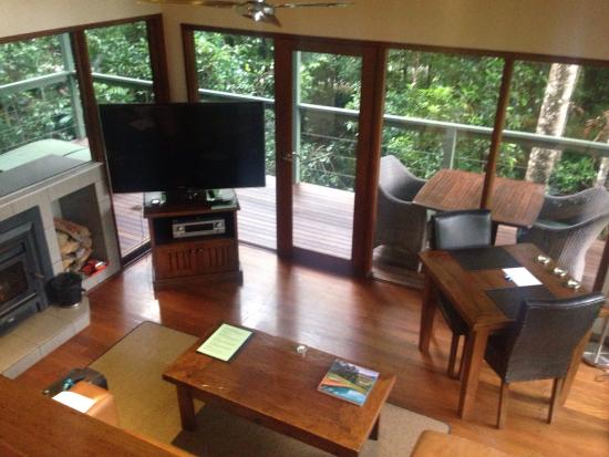 Upper Crystal Creek, Αυστραλία: Booyung rainforest canopy  bungalow