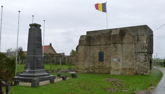 Belgische Voorpostbunker Wo 1