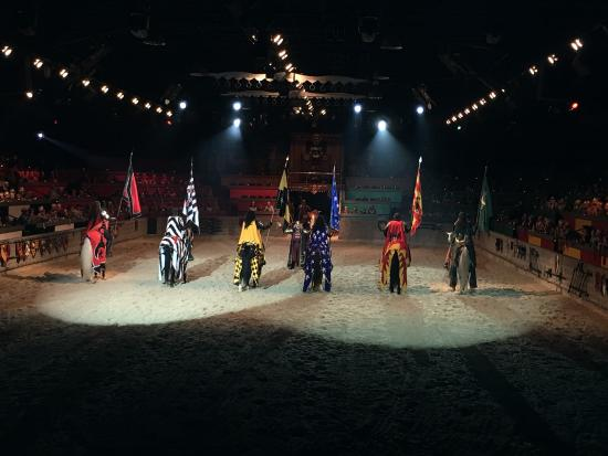 South Carolina > Myrtle Beach > Food & Drink; Medieval Times Myrtle Beach Spring Take a trip to Medieval Times in Myrtle Beach and make your next meal a good one. Load up the mini-van and bring the kids to this restaurant? they'll love the menu and scene here as much as mom and dad. Medieval Times Myrtle Beach Spring Location: Fantasy Way, Myrtle Beach, , SC.