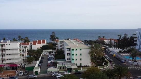 Hotel Caserio: Utsikt från rummet