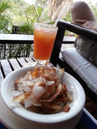 Spring Bay, Bequia: Coconut Chips