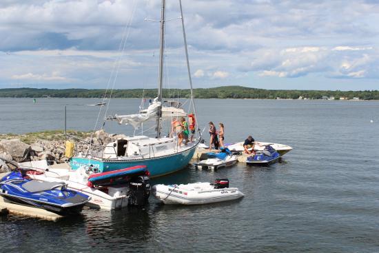 Sturgeon Bay, WI: Floating Dock3
