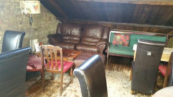 Scorton, UK: Lots of private nooks and crannies