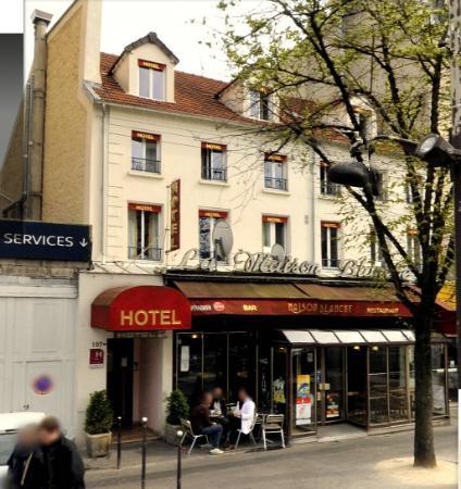 Hotel la maison blanche paris france voir les tarifs for La maison hotel