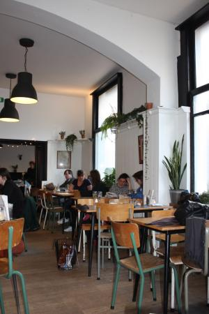 Photo of Restaurant Cafe Kamiel at Markgravelei 90, Antwerp 2018, Belgium