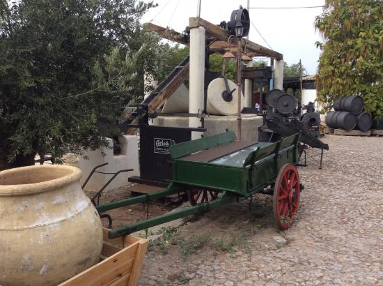Luque, Hiszpania: Olive press and associated artefacts