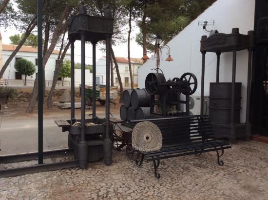 Luque, España: Machinery from the olive oil works