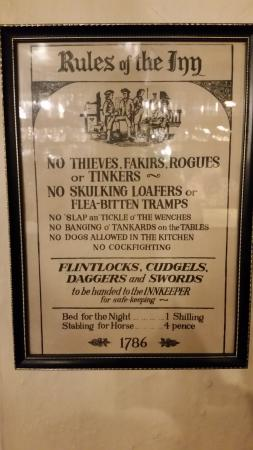 Rattery, UK: The rules!