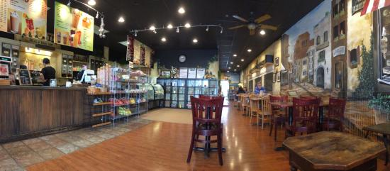 Columbia, MD: First Visit to Riverside Coffee.  Neat little place.