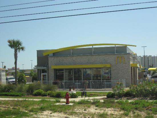 McDonald's at Pier Park (in front of Walmart) - Picture of