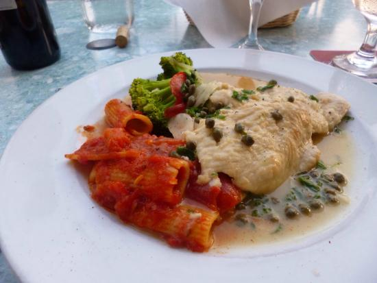 Placida, FL: Chicken piccata