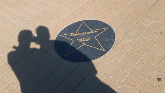 Hotel Pacific: Walk of Fame - Pierce Brosnan
