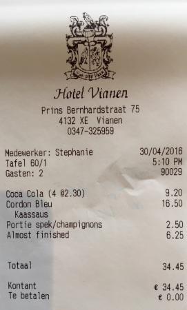 Restaurant Vd Valk Vianen