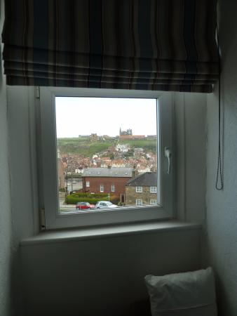 Number Seven Guest House: View from room 6 towards the Abbey