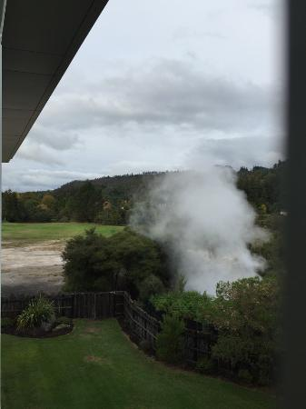 Wairakei Resort Taupo: The geothermal spring that heats the hotel