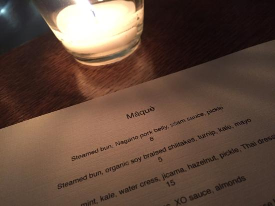 """Maque: This menu should have check boxes so you can just work your way through it it like a """"to do"""" lis"""