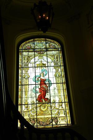 Pestana Palace Lisboa Hotel & National Monument: Glasraam in de eceptie