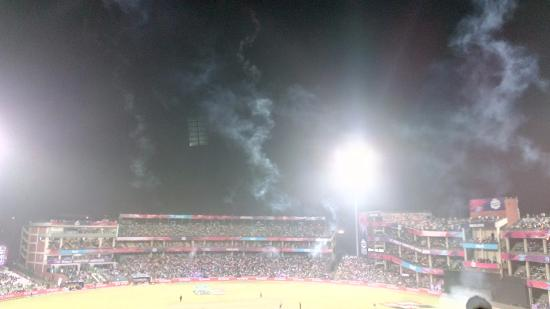 Feroz Shah Kotla Stadium: After the fireorks