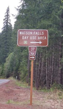 Roseburg, OR: Leaving Watson Falls_large.jpg