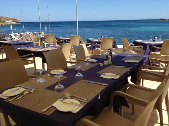 Il Kartell Restaurant: Ouside terrace
