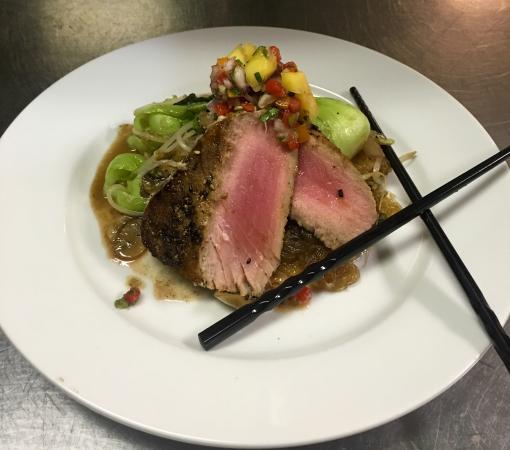 Gulfport, Φλόριντα: Seared Tuna Entree