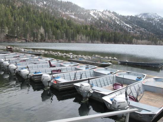 Gull Lake Marina, June Lake, CA
