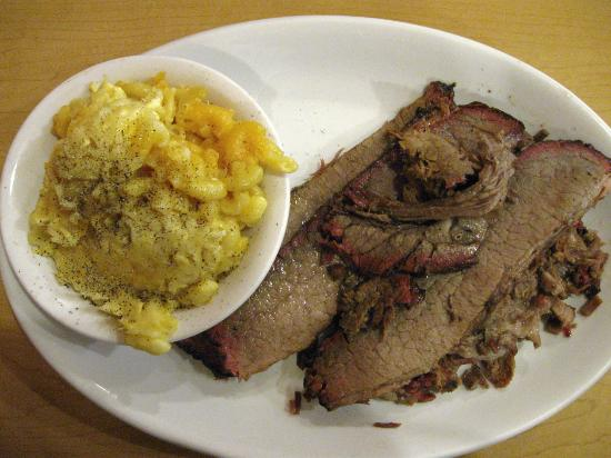 Brookville, IN: brisket, mac & cheese
