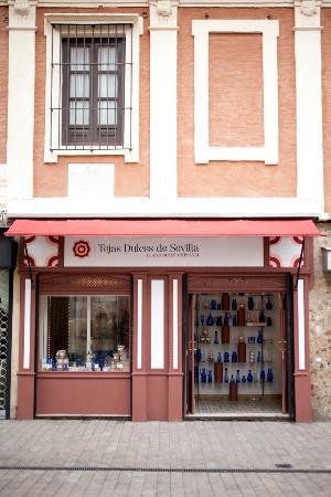 Tejas Dulces de Sevilla