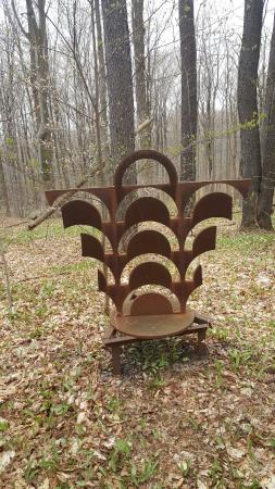 Ellicottville, estado de Nueva York: Griffis Sculpture Park